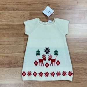 Hanna Andersson Baby Knit Sweater Dress
